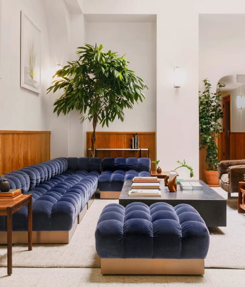 Couches & Sofas by M2L seen at Tilden Hotel, San Francisco - Deep Tuft Sofa