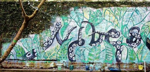 Street Murals by Charly Malpass Art seen at Charleston, Charleston - Vibes