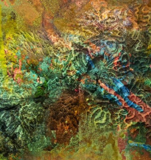 Art & Wall Decor by Art Mixed Up - Joey Melinda Morgan seen at Townhomes at Biltmore, Phoenix - Fossilized Coral