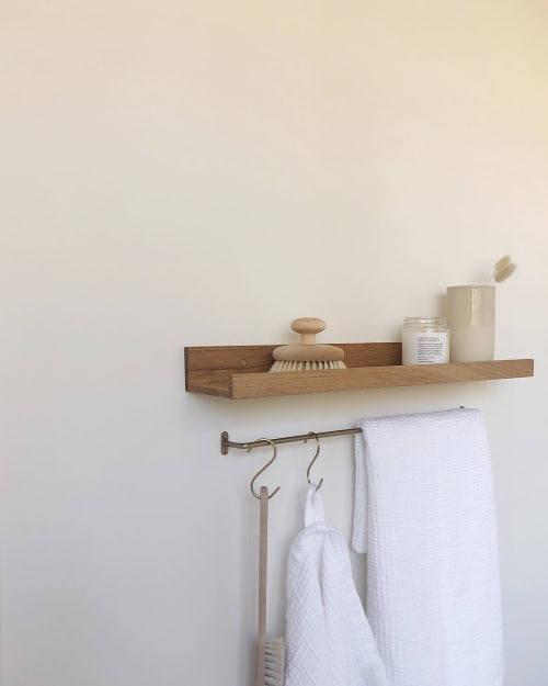 Apparel & Accessories by Rough Linen seen at Private Residence, Surrey - Waffle Linen Towel