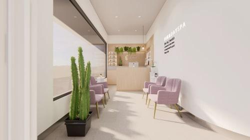Interior Design by Studio Hiyaku seen at 1026 Old Princes Hwy, Engadine - Fika Day Spa