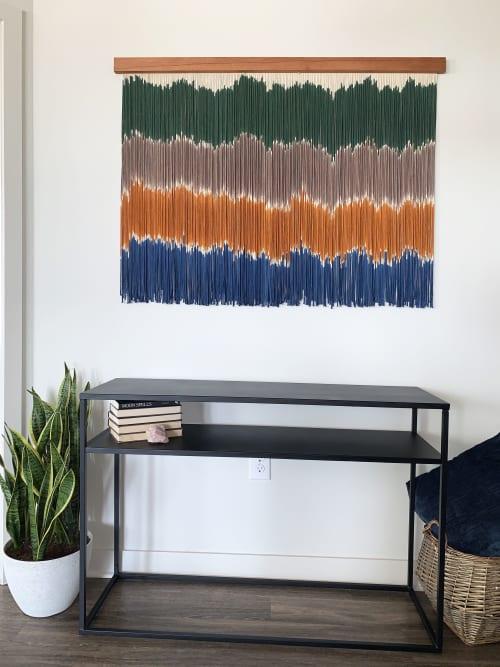 VIBRATIONS Macrame Wall Hanging / Fiber Art | Macrame Wall Hanging by Jay Durán @ J. Durán Art + Home | Dallas in Dallas