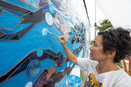 Eurhi Jones - Murals and Street Murals