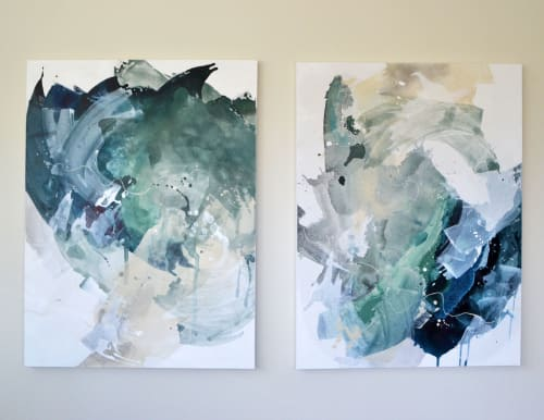 Paintings by Pamela J. Black seen at Private Residence, Pittsburgh - Commissioned Paintings