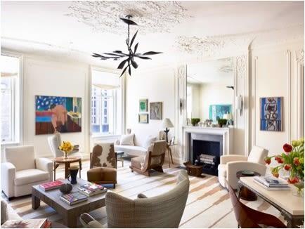 Work by Herve Van Der Straeten seen at Private Residence - Upper West Side, New York - Ceiling Fixture
