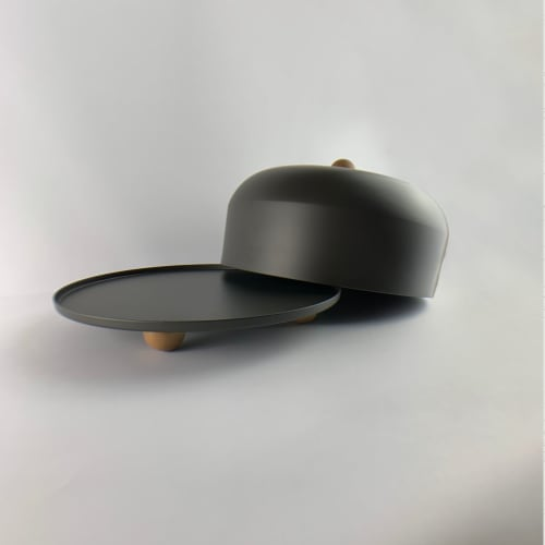 Utensils by Ndt.design seen at Delray Beach, FL, Delray Beach - Cake Stand - Rondo Collection