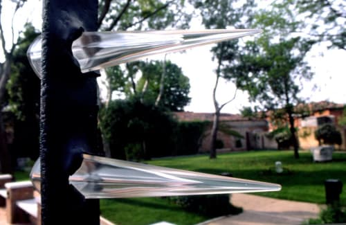Sculptures by Andrea Morucchio seen at Museum of Glass, Venezia - Enlightenments