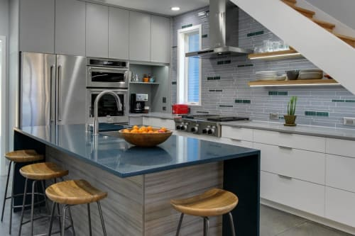 Interior Design by Interstyle Ceramic & Glass Ltd seen at Private Residence, Chapel Hill - Contemporary Kitchen