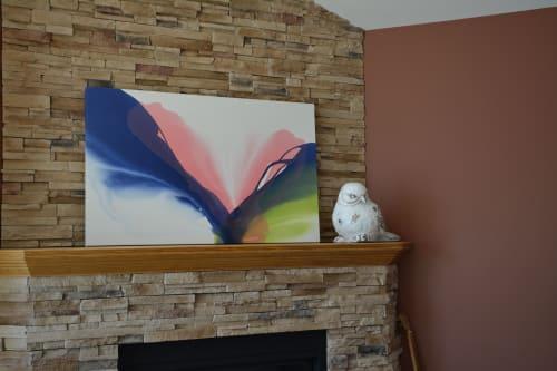 Paintings by Vicki McFarland ART seen at Private Residence, Chatham-Kent - Vivification