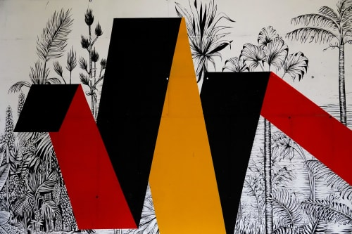 Murals by Daniela Carvalho - jungle 2