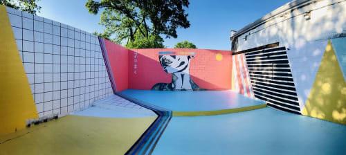 Adrien Saporiti - Art and Street Murals