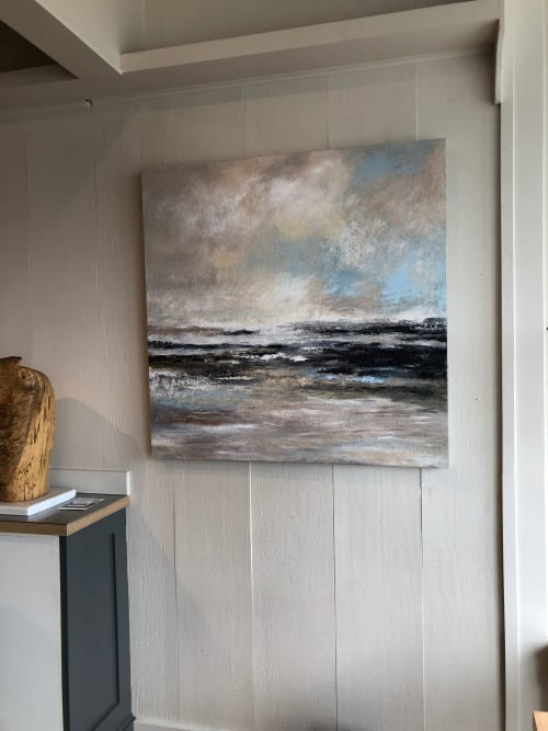 Paintings by Kim Ford Kitz seen at Saltwater, Inverness - Waterline