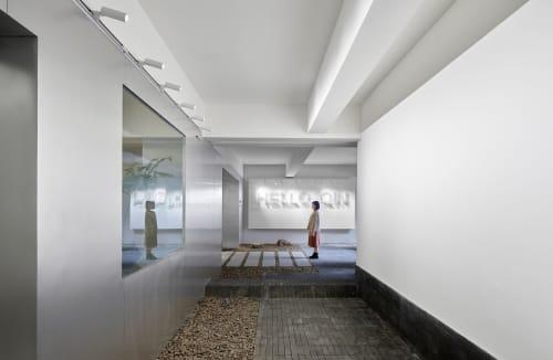 "Interior Design by Studio DOTCOF seen at Chengdu, Chengdu - ""Working under the same roof"" - Qin Group Chengdu Office"