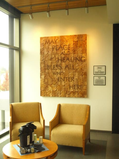 "Art & Wall Decor by Brian Watson seen at St. Elizabeth Hospital, Enumclaw - ""TEXERE,"""