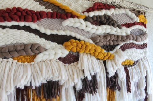 Liyla | Wall Hangings by Keyaiira | leather + fiber
