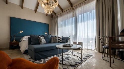 Interior Design by Ran & Morris Architecture & Design seen at Ma'ale HaHamisha, Ma'ale HaHamisha - Gordonia Private Hotel
