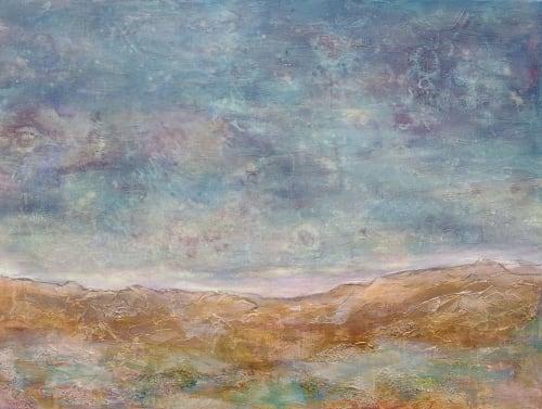 Storm over the Desert   Paintings by Jillian Goldberg