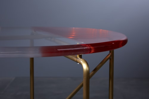 Tables by Roberto Giacomucci seen at Roberto Giacomucci Design Studio, Ancona - Cinabro