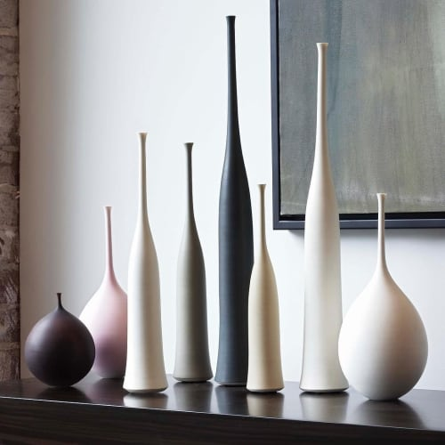 Vases & Vessels by Sophie Cook Porcelain seen at Private Residence, Richmond - Ceramic Vessels