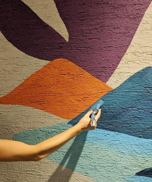 Murals by Gamze seen at Flatofis Haliç - Indoor Mural
