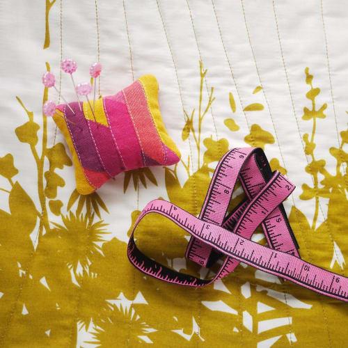 Rugs by Andrea Tsang Jackson seen at Private Residence, Halifax - Pin Cushion