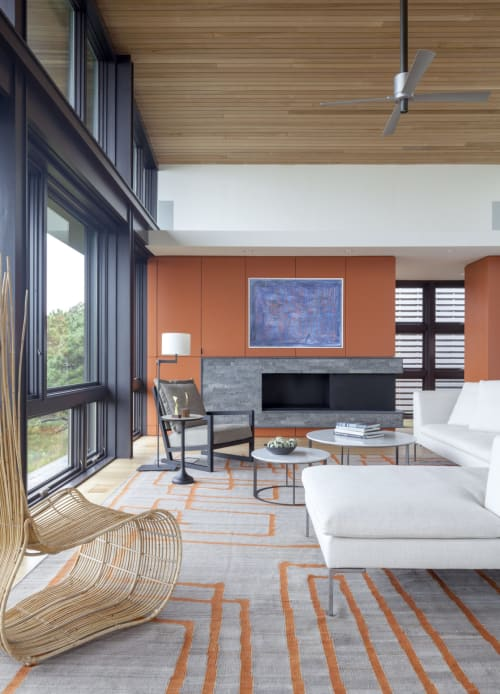 Interior Design by Ruhl Studio Architects seen at Private Residence, Wellfleet - Architectural Design