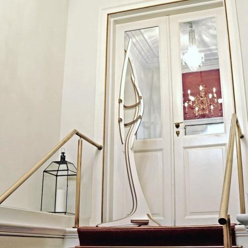 Furniture by Peter Qvist seen at Private Residence, Hornbæk - EN GARDE coat stand