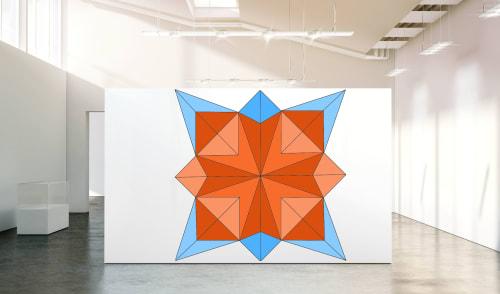 Murals by Bylizetstudio seen at Creator's Studio - Interior Mural