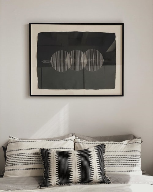 Wall Hangings by Britt Fabello seen at Private Residence, Boston - The Aligning of Many Suns