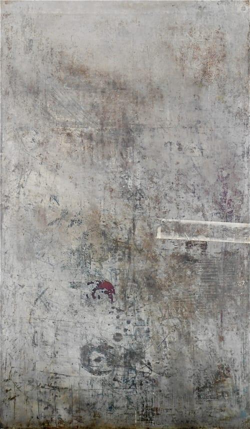 Paintings by George Antoni seen at Creator's Studio, Rottingdean - Excavations 422