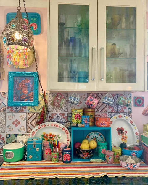 Pendants by ISHKA seen at Alexandra Felgate's Home, Adelaide - Boho Pendant