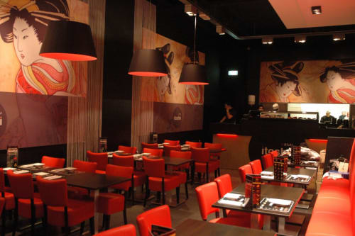 Interior Design by B-TOO interieurarchitecten seen at Itoshii, Hoofddorp - Restaurant Itoshii Hoofddorp