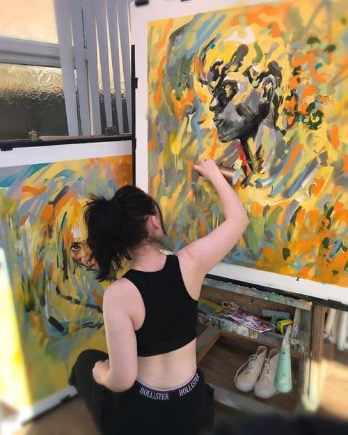 Emily Sarah Art - Paintings and Murals