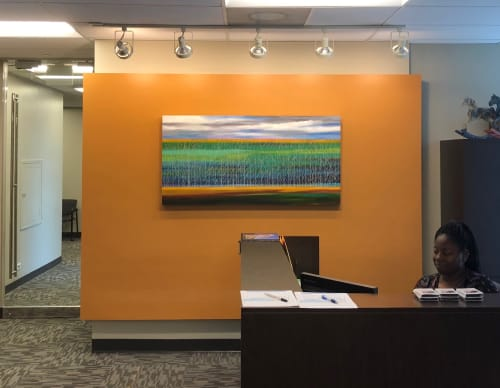 Art Curation by T Clifton Art seen at Methodist University Hospital, Memphis - Art Curation