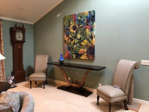 Paintings by Joanne Beaule Ruggles seen at Private Residence, San Luis Obispo - Memories of Montepulciano