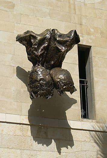 Sculptures by Marc Lewis seen at Jaffa Court, Tel Aviv-Yafo - Jupiter