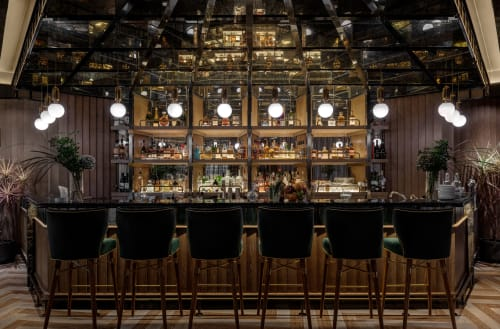 Interior Design by M.R.STUDIO seen at Monte Carlo Whisky Club - MONTE CARLO WHISKY CLUB HONG KONG