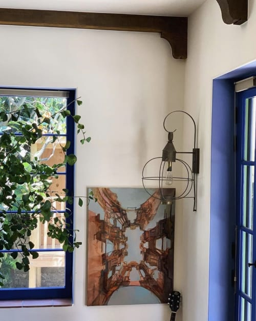 Paintings by Lexie Armstrong seen at Private Residence, Los Angeles - Ceiling Painting