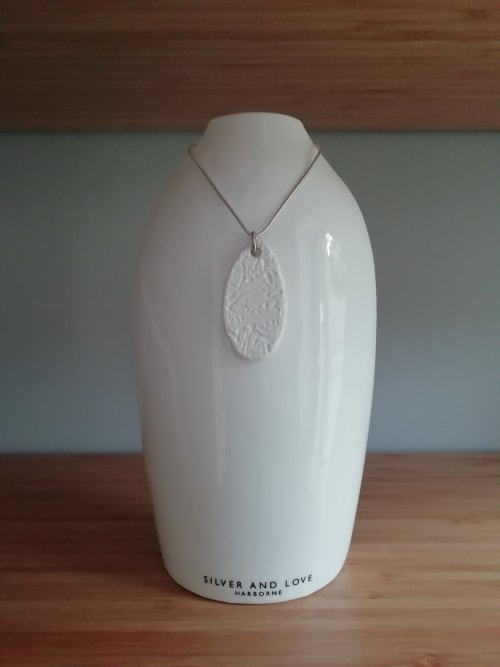 Interior Design by Wendy Tournay Ceramics seen at Silver and Love, Harborne - Jewellery Stands for Shop Display