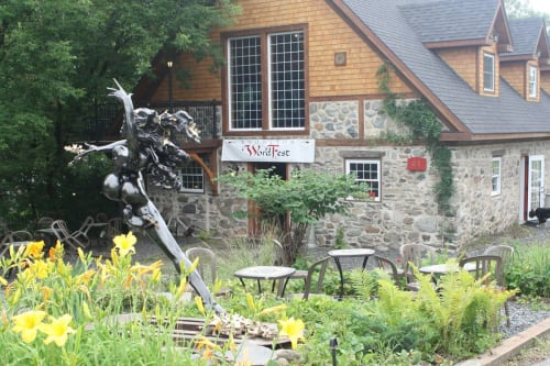 Public Sculptures by Nicole Taillon seen at Magog, Magog - Cassiopée