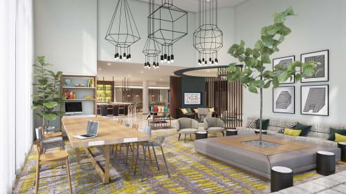 Interior Design by Puccini Group at Cambria Hotel LAX, El Segundo - Interior Design