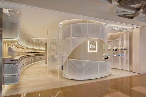 Interior Design by LUKSTUDIO seen at Cityplaza - Second Skin in Regina Miracle