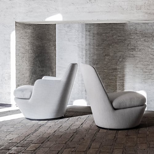 Chairs by Niels Bendtsen at Private Residence, Vancouver - Lo Turn + Pre Chair