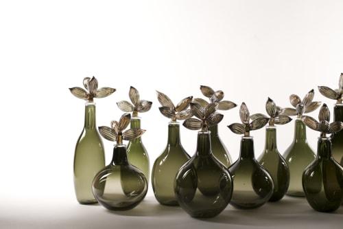 Elizabeth Lyons Glass - Lighting and Planters & Vases