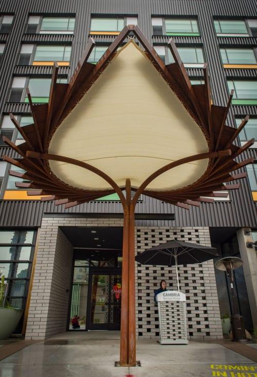 Public Sculptures by Craig Randich Studio seen at Cambria Hotel Downtown Phoenix Convention Center, Phoenix - Untitled