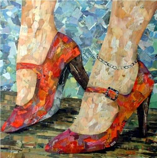 Paintings by Eileen Downes seen at Private Residence, Sacramento - Confidence