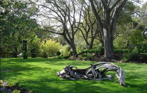 Plants & Landscape by Zeterre Landscape Architecture seen at Private Residence, Woodside - Woodside Retreat