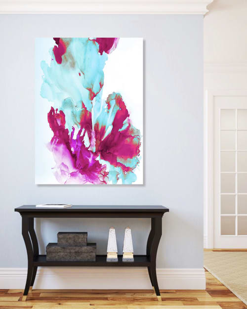 Photography by Emily M Randolph Fine Art seen at Private Residence, Scottsdale, Scottsdale - Sea Bloom