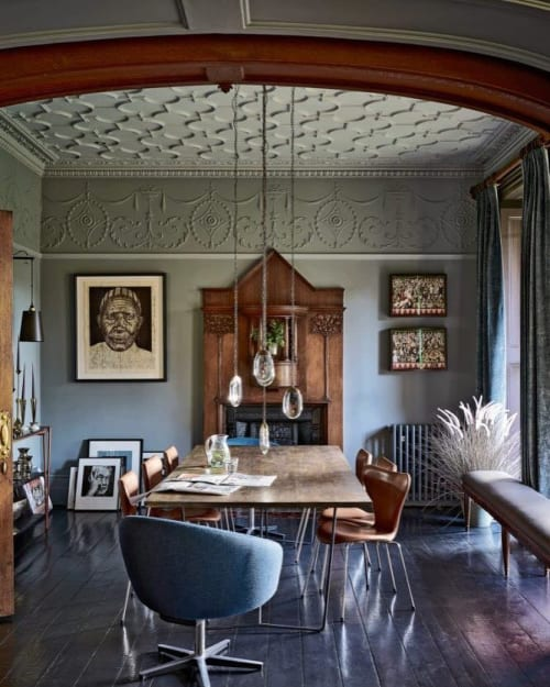 Art & Wall Decor by Mark Powell seen at Private Residence, London - Je t'aime