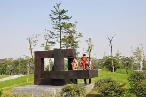Public Sculptures by Luka Radojevic seen at Tongling, Tongling - Trinity